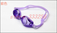 Wholesale High quality Antifog waterproof UV swimming mirror swimming glasses goggles adult men and women LZ