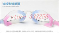 Wholesale Antifaz Para Dormir Safety Glasses free High Quality Antifog Waterproof Uv Swimming Mirror Glasses Goggles Adult Men And Women Lz