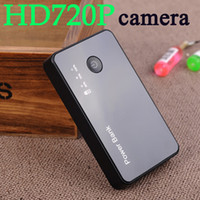 Wholesale 3000mah Mobile Power Bank Spy camera H HD mini DV camcorder Power Bank motion detection hidden security camera
