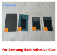 Wholesale Original Back LCD Adhesive Glue Tape For Samsung Galaxy S1 i9000 S2 i9100 S3 i9300 T999 note1 N7000 DHL