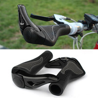 bicycle handlebar grips - 1 Pair Cycling Mountain MTB Bike Lock on Handlebar Cover Bicycle Handle Grip with Bar Ends