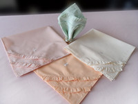 Wholesale COTTON RESTAURANT DINNER CLOTH LINEN NAPKINS Embroidery