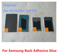 Wholesale Original Back LCD Adhesive Glue Tape Sticker For Samsung Galaxy S1 i9000 S2 i9100 S3 i9300 T999 note1 N7000 DHL