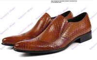 Formal  best british shoes - Brand New men s business Leather shoes Best quality Dress Business shoes flats men genuine leather shoes british style shoes