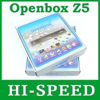 Wholesale 20pcs Original Openbox X5 update modle openbox z5 p Full HD Satellite Receiver support Wifi youtube gmail google