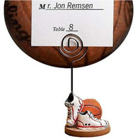 Wedding basketball wedding favors - Wedding amp Party Decorations Basketball Themed Place Card Holders Pce Wedding Favors