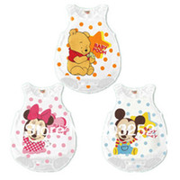 Regular Unisex Robe 9 pieces lot- Mouse modeling Baby sleepingsacks Yellow Bear Baby Rompers Girl's Pajamas Baby sleeping bag