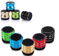 Wholesale 50pcs S15 S16 S17 Mini speaker Wireless Bluetooth HIFI speakers with Strong bass Support TF Card DY