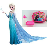 Backpacks backpack meals - 9 off in stock frozen elsa anna upscale meal package kettle boxes Combination lunch boxes drop shipping on sale HZ