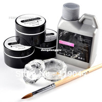 Wholesale Nail Art Acrylic Color Powder Liquid Kit Nail Starter Manicure Set NA751407