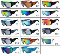 Wholesale 17 Colours Fashion Dragon DOMO Remix men Designer Sunglasses Cycling Eyewear Dragon Brand Coating glasses Drragon DOMO with Retail box