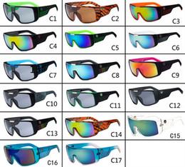 Wholesale 17 Colours Fashion Dragon DOMO Remix men Designer Sunglasses Cycling Eyewear Dragon Brand Coating glasses Drragon DOMO with Retail box
