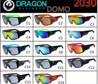 Resin Lenses brand sunglasses - Fashion Dragon Domo Brand Sunglasses With Original Packaging Box Case Sun Glasses Cycling Eyewear Outdoor Sports Sunglasses Color