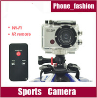 Wholesale S500W Extreme Action Sport Camera Wifi support Full HD P Gopro style underwater mini camcorder IR remote
