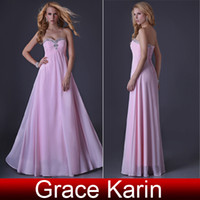 Grace Karin Sexy Stock Strapless Chiffon Bridesmaid Party Go...
