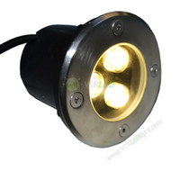 Wholesale Cheap Price W W AC85 V LED underground Lamp buried LED Lights Outdoor Lighting white warm white waterproof garden lights