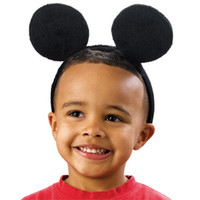 Cheap Hair Sticks baby head band Best Cotton Animal mickey mouse
