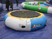 Wholesale inflatable water game lake water park game water trampoline game