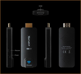 Wholesale Hot Measy P A2W HDMI TV Receiver Multi Media Wireless Display Miracast Dongle Ezcast Airplay Chromecast AAA quanlity