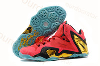 Wholesale Hot New Style Lebron XI Elite Mens Basketball Shoes MVP Brand Athletic Shoes Top Quality Sports Shoes SIZE EU41