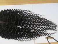 Wholesale Jerri Human Hair Curly x4 Closure Premium Now Hair Brazilian Kinky Curly Human Hair Virgin Brazilian Hair Kinky Curly Pc Lace Closure