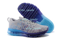 Wholesale Flyknit Air Full Length Running Shoes For Men And Women Tubular Construction Sports Shoes With Swoosh Logo Ultralight Support Athletic Shoes