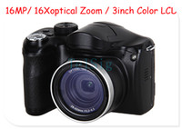 Wholesale HD Digital Bridge MP camera x Optical Zoom MP multi Language DSLR camera high quality black