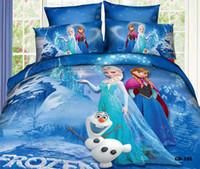 Wholesale Crazy Selling SET Craze Frozen Bedding Set Linen with Organic Cotton