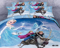 Wholesale Craze Frozen Doona SET Linen Bedding Set of Elsa Anna Kitty