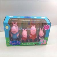 Cheap Multicolor New 2014 Best Plastic Keepsake Tins peppa pig family