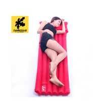 Wholesale CHANODUG Amphibious Air Sleeping Mat Foldable Inflatable Mattress Moisture proof Camping Swimming Pad