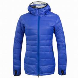 Wholesale 2014 winter Canada Women ultralight ultra warm down Coats Vrouwen ultralichte ultra warme beneden