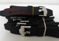AP Rubber Black Factory Supplier Watch Accessories Bands Brand Royal Oak Offshore Black Rubber Diver Strap + Buckle 42mm Mens Watch Men's Watches