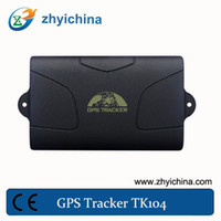 19cm*13cm*6cm TK104 0.9kg 2014 Newest GPS car tracker 104 with external power source, internal back up battery