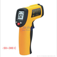 Wholesale GM300 Non Contact Digital Infrared IR Thermometer With Laser C Cinical Termometer LCD E0017