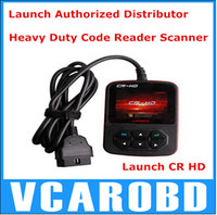 Wholesale Super Launch CR HD Truck Code Reader Scan Tool Original Launch CR HD Heavy Duty Diagnostic Tool High Quality DHL