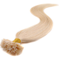 cold fusion hair extensions - 100g g strand Color613 Malaysian Virgin Hair Cold Fusion Prebonded U Tip Hair Extension