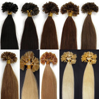 European Hair cold fusion hair extensions - Best Quality Color613 European Hair Cold Fusion Prebonded U Tip Hair Extension Strands Pack g strand