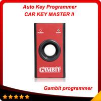 Alto quaity Gambito programador coche llave MASTER II transpondedores de RFID generando Scanner profesional y programación programador clave