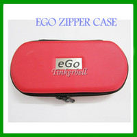 Wholesale Electronic Cigarette Ego case ego leather bag for ego t ego w ego F carrying case with ego logo different size for options L M S Size DHL