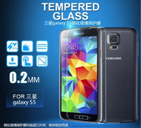 Wholesale for Samsung galaxy S5 mm nti Scratch Clear Screen Protector Film Guard package with retailbox