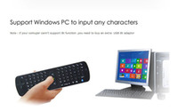 Wholesale Latest Bluetooth Wireless Keyboard with Air Mouse Remote Control Measy RC16 for iPhone iPad Mini PC Android TV Box Tablet PC AAA Quality