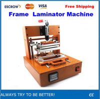 Frame Laminator machine frame moulding - Free Ship Frame Laminating Machine with Mould for iPhone Screen bezel Pressure bracket frame laminator support press machine