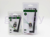 Wholesale Mini M Mbps USB WiFi Wireless Network Card n g b LAN Adapter with Antenna C1289 UP
