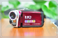 Wholesale 3 quot TFT LCD MP HD digital video camcorder DV DVR x digital zoom P support GB SD card