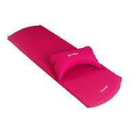 Wholesale CHANODUG Self inflating Sleeping Pad with Air Pillow Moisture proof Mat
