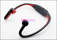 Wholesale Wireless Sport Headphone MP3 Earphones Protable Headset speaker With USB TF Card Slot Hot sale