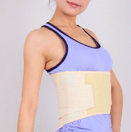 Wholesale Deluxe Waist Support Belt Brace For Lumbar Disc Herniation Strain Sciatica Sprain
