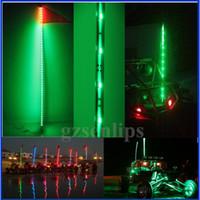 utv - LED Light Whips feet LED lighted whip for atv utv green light ATV UTV Sand Rail led light