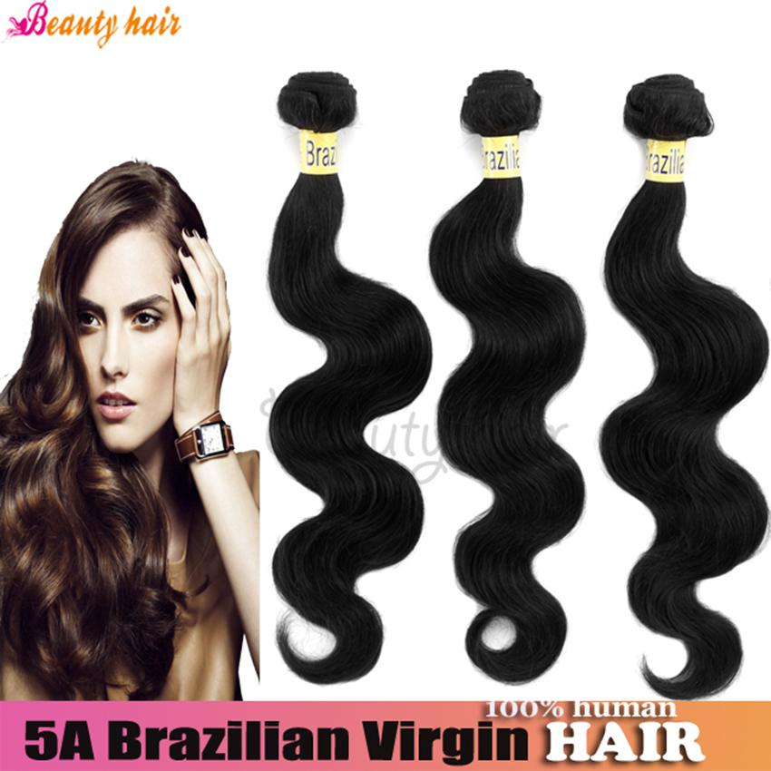 Virgin Brazilian Hair Body Wave Weft Hair Bundles 5a 3 Or
